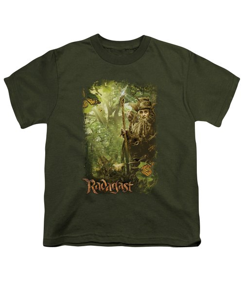 The Hobbit - In The Woods Youth T-Shirt by Brand A