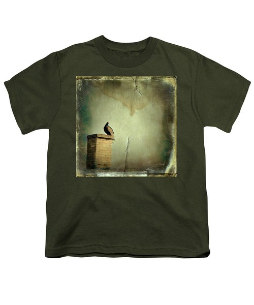 Turkey Vulture Youth T-Shirt by Gothicrow Images