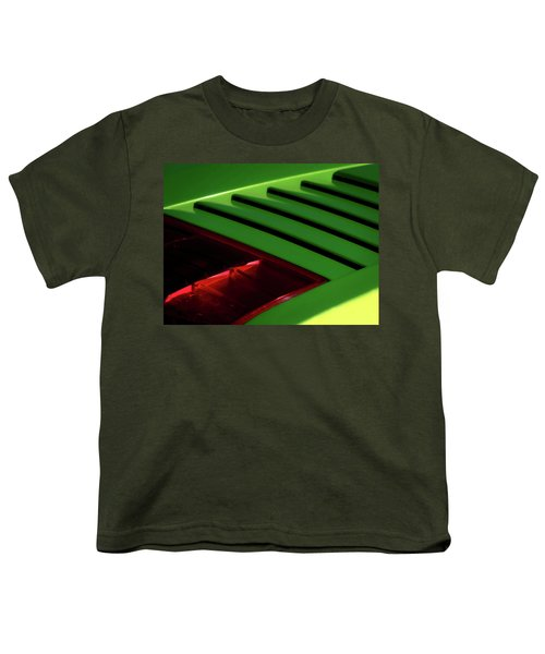 Lime Light Youth T-Shirt by Douglas Pittman