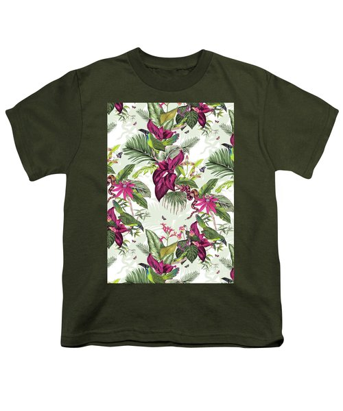 Nicaragua Youth T-Shirt by Jacqueline Colley