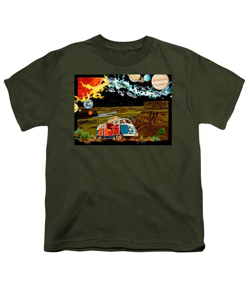 The Gorge One Sweet World Youth T-Shirt by Joshua Morton