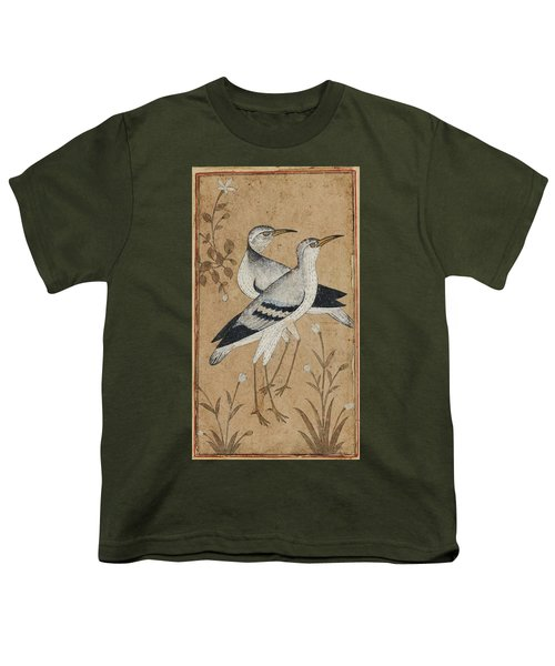 A Pair Of Lapwings Youth T-Shirt by MotionAge Designs