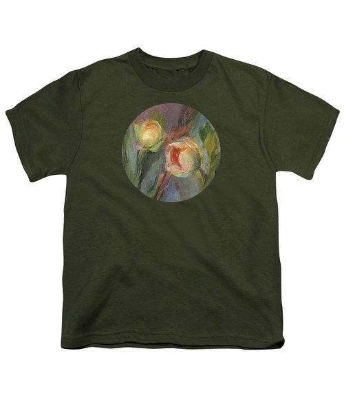Evening Bloom Youth T-Shirt by Mary Wolf