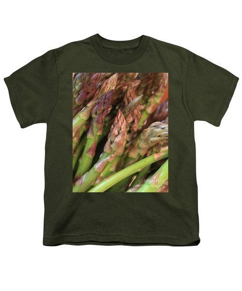 Asparagus Tips 2 Youth T-Shirt by Carol Groenen