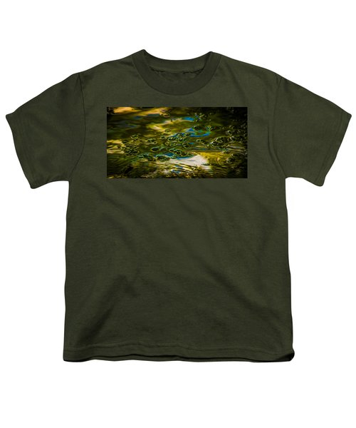 Bubbles And Reflections Youth T-Shirt by Marvin Spates