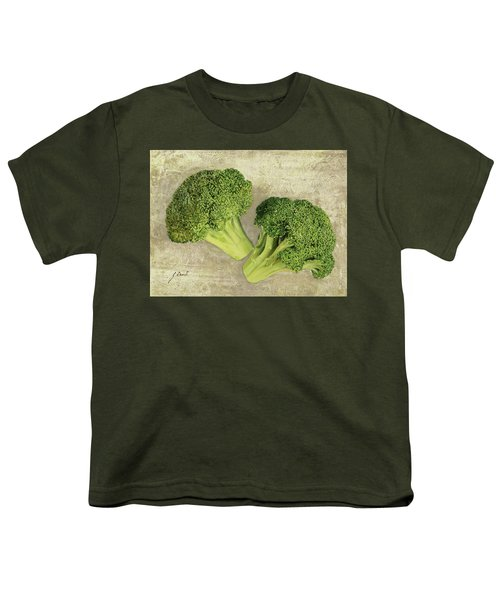Due Broccoletti Youth T-Shirt by Guido Borelli