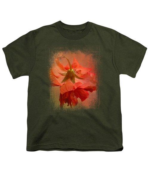 Falling Blossom Youth T-Shirt by Jai Johnson