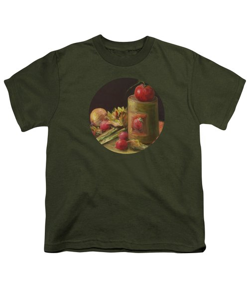 Freshly Picked Youth T-Shirt by Mary Wolf