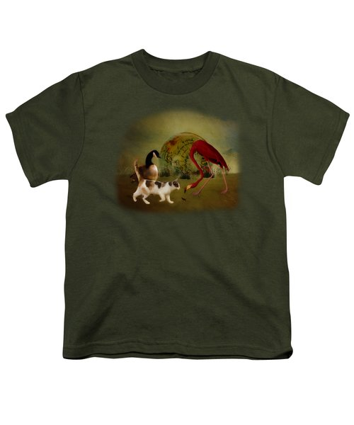 Global Initiative Youth T-Shirt by Terry Fleckney