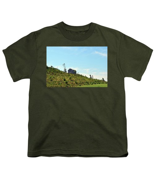 Governors Island Hills Youth T-Shirt by Sandy Taylor