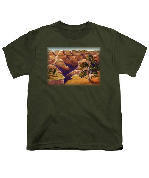 Grand Canyon Youth T-Shirt by Anastasiya Malakhova