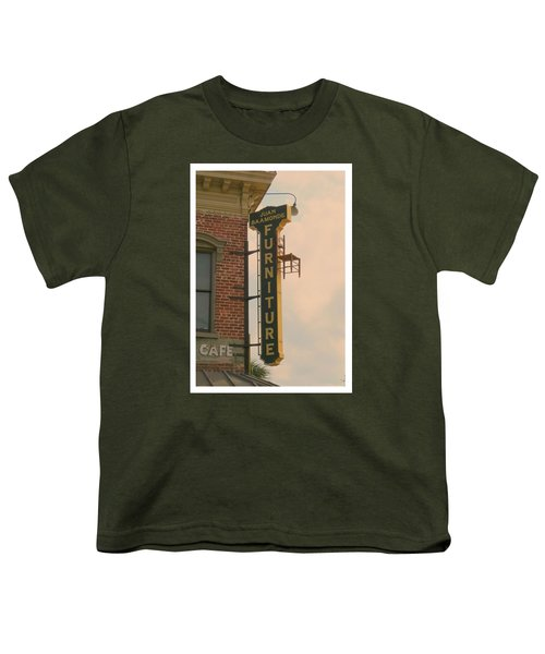 Juan's Furniture Store Youth T-Shirt by Robert Youmans