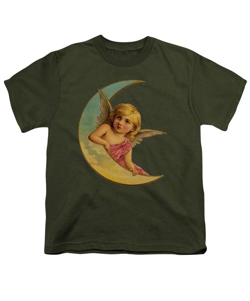 Moon Angel T Shirt Design Youth T-Shirt by Bellesouth Studio
