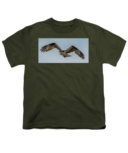 Osprey Flying Youth T-Shirt by Paul Freidlund