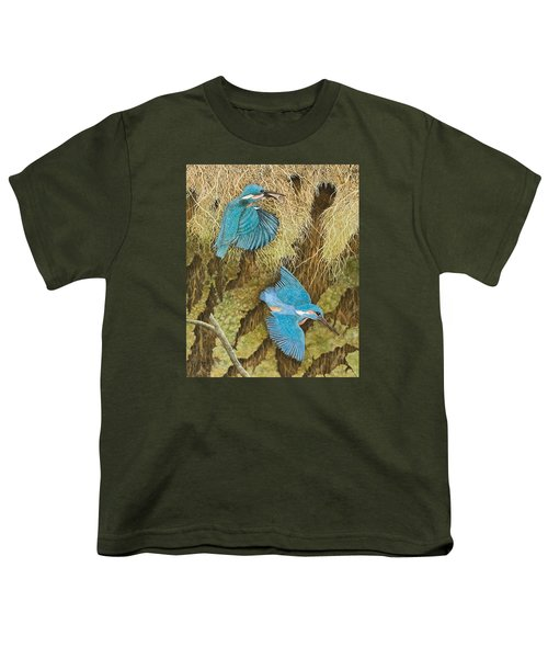 Sharing The Caring Youth T-Shirt by Pat Scott