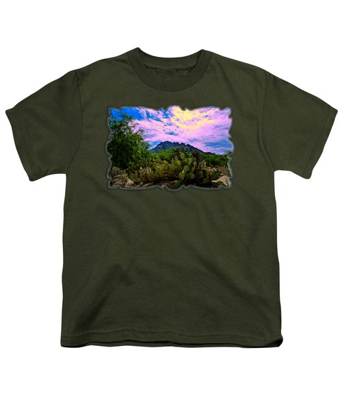 Sonoran Morning H54 Youth T-Shirt by Mark Myhaver