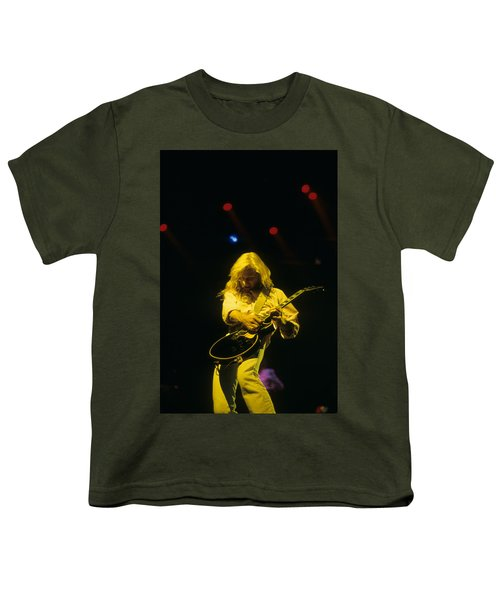 Steve Clark Youth T-Shirt by Rich Fuscia
