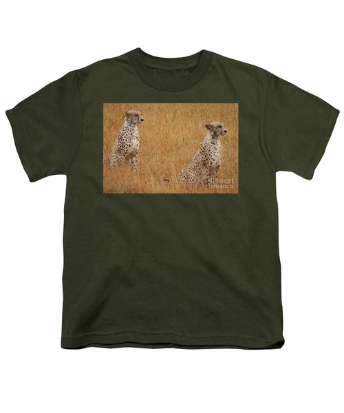 The Cheetahs Youth T-Shirt by Stephen Smith