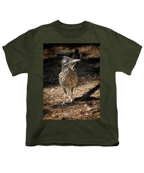 The Greater Roadrunner Walk  Youth T-Shirt by Saija Lehtonen