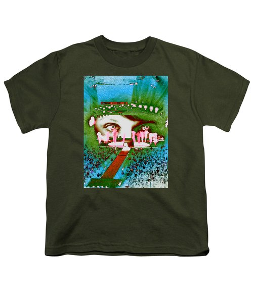 Through The Eyes Of Taylor Youth T-Shirt by Kim Peto