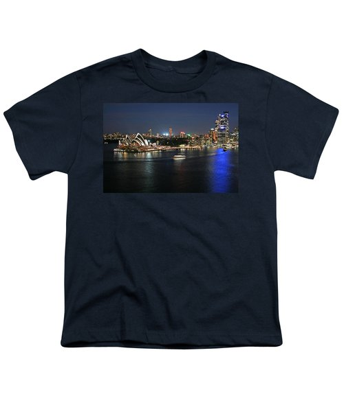 Sydney Harbor At Circular Quay Youth T-Shirt by Ellen Henneke