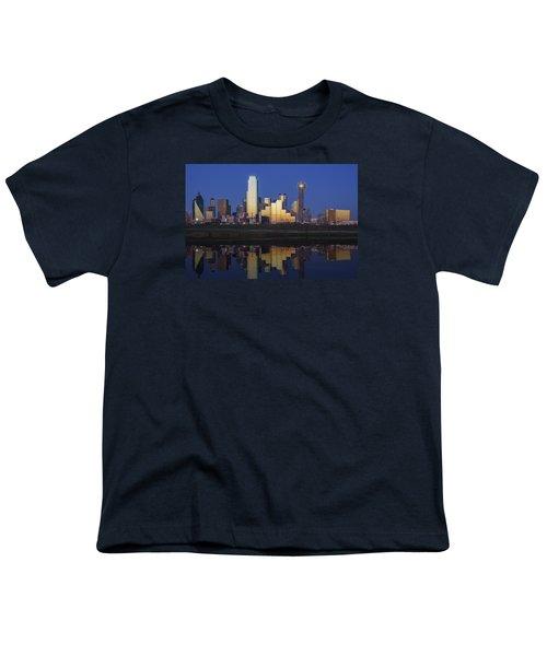 Dallas Twilight Youth T-Shirt by Rick Berk