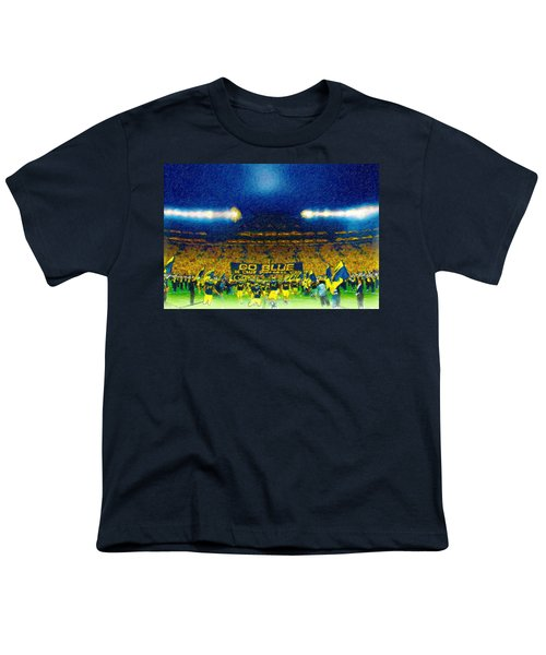 Glory At The Big House Youth T-Shirt by John Farr