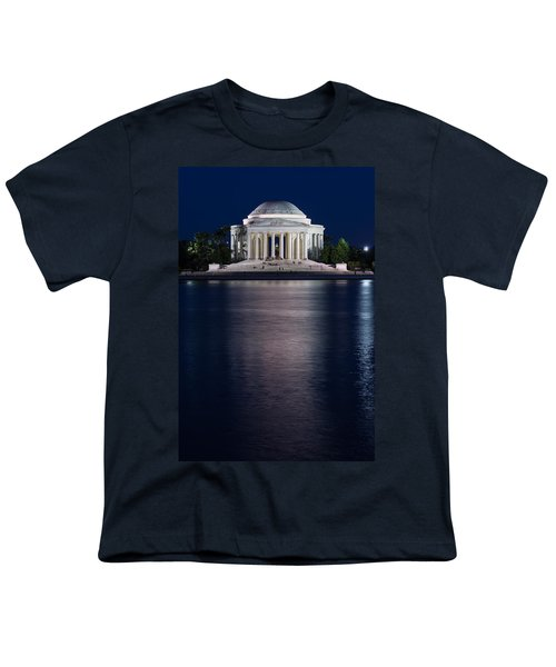 Jefferson Memorial Washington D C Youth T-Shirt by Steve Gadomski