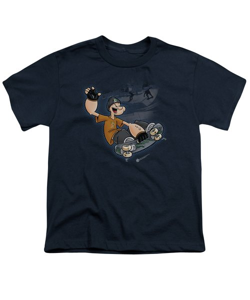 Popeye - Sk8 Youth T-Shirt by Brand A