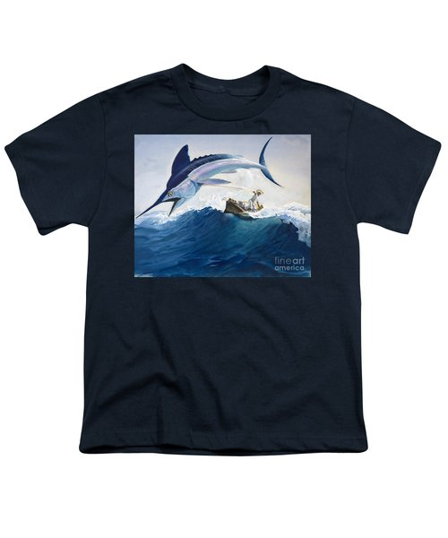The Old Man And The Sea Youth T-Shirt by Harry G Seabright