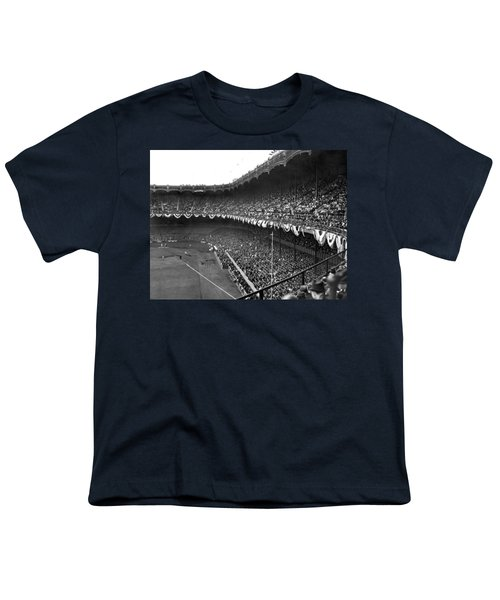 World Series In New York Youth T-Shirt by Underwood Archives