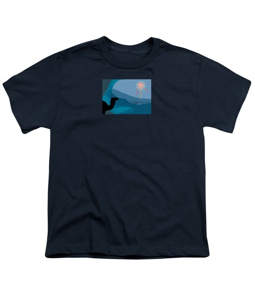 Alexander Epiphany A Youth T-Shirt by Stan  Magnan