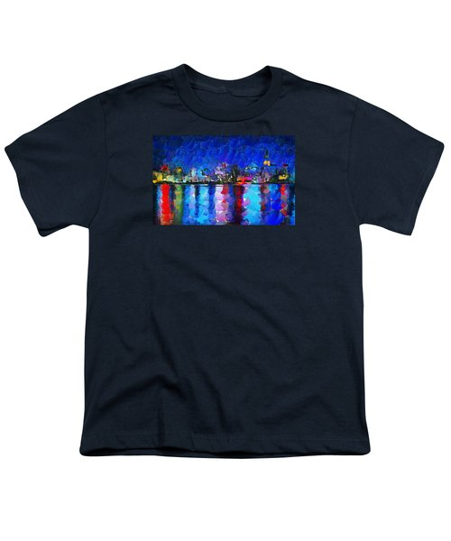 City Limits Tokyo Youth T-Shirt by Sir Josef Social Critic - ART