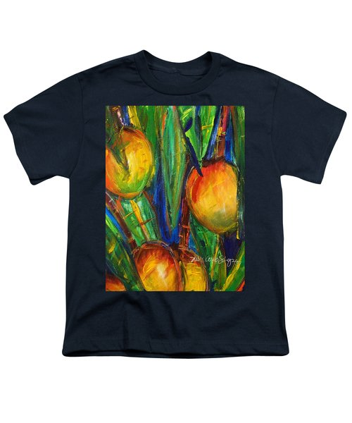 Mango Tree Youth T-Shirt by Julie Kerns Schaper - Printscapes