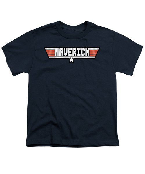 Maverick Callsign Youth T-Shirt by Fernando Miranda