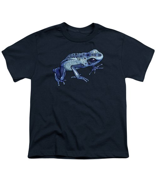 Poison Dart Frog Youth T-Shirt by ZH Field