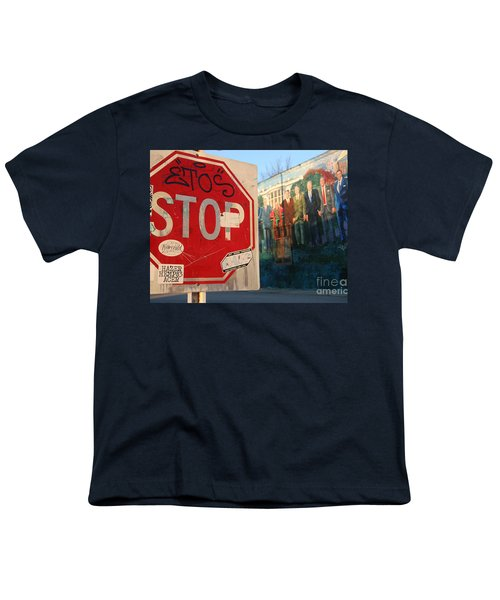 Street Art Washington D.c.  Youth T-Shirt by Clay Cofer