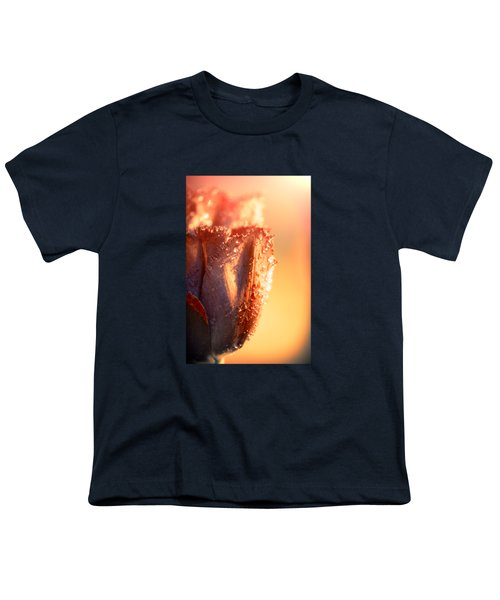 Sun Rays Flower Youth T-Shirt by Konstantin Sevostyanov