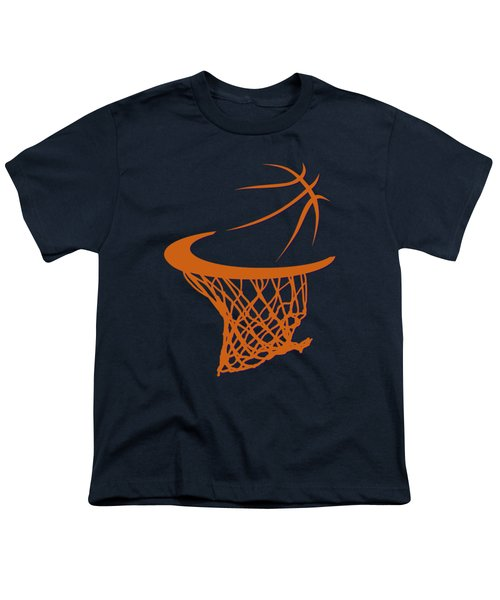 Suns Basketball Hoop Youth T-Shirt by Joe Hamilton