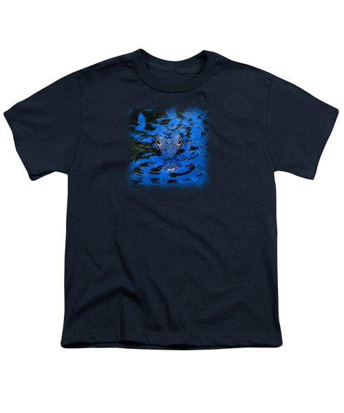 The Eyes Of A Florida Alligator Youth T-Shirt by John Harmon