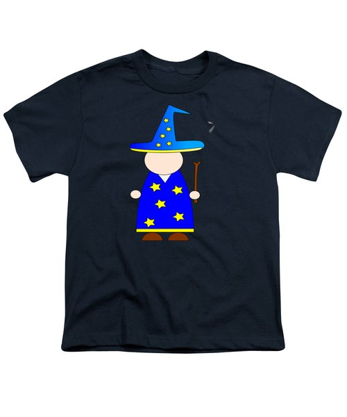 Wizard #2 Youth T-Shirt by Frederick Holiday