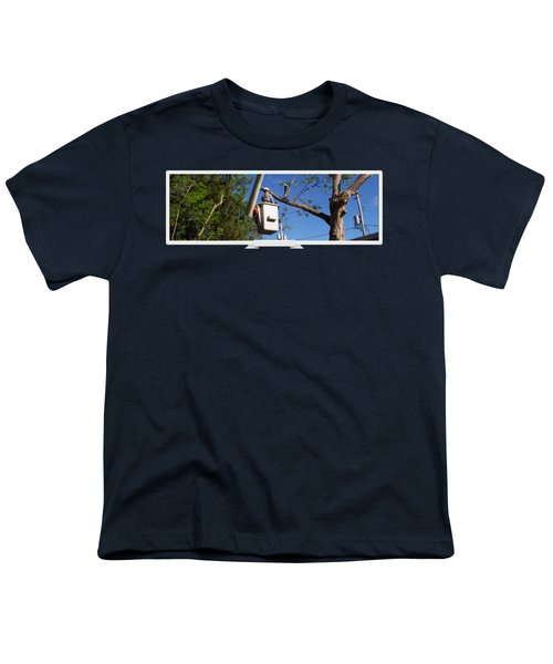 Woodland Tree Service Youth T-Shirt by Evergreenarborists