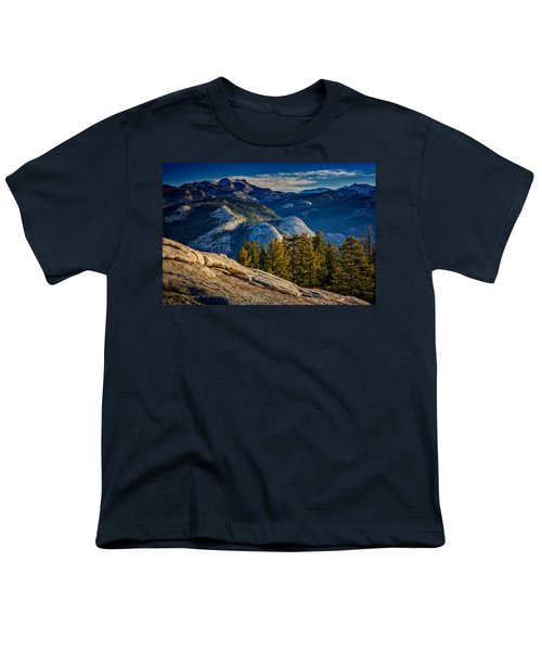 Yosemite Morning Youth T-Shirt by Rick Berk