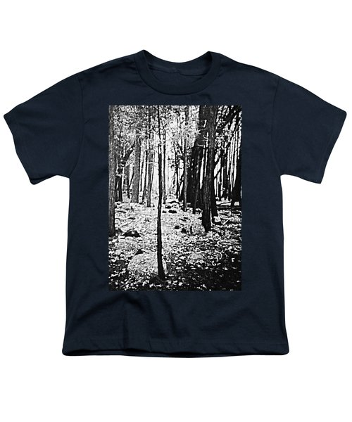 Yosemite National Park Youth T-Shirt by Debra Lynch