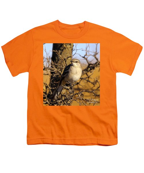 Common Mockingbird Youth T-Shirt by Robert Frederick