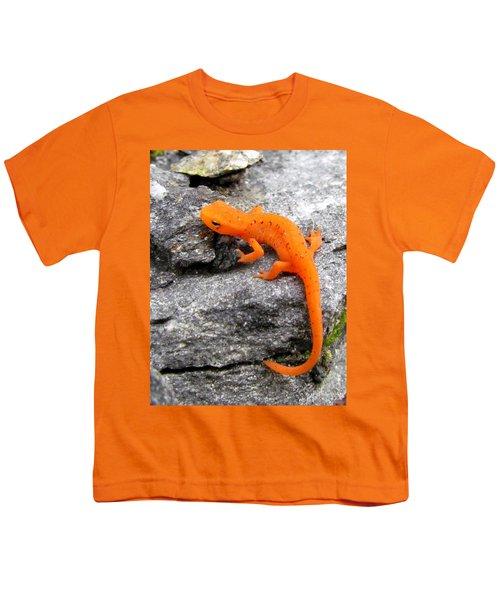 Orange Julius The Eastern Newt Youth T-Shirt by Lori Pessin Lafargue