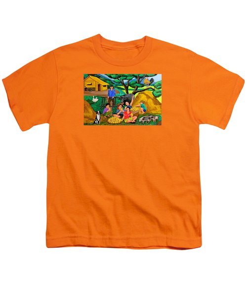 Harvest Time Youth T-Shirt by Cyril Maza