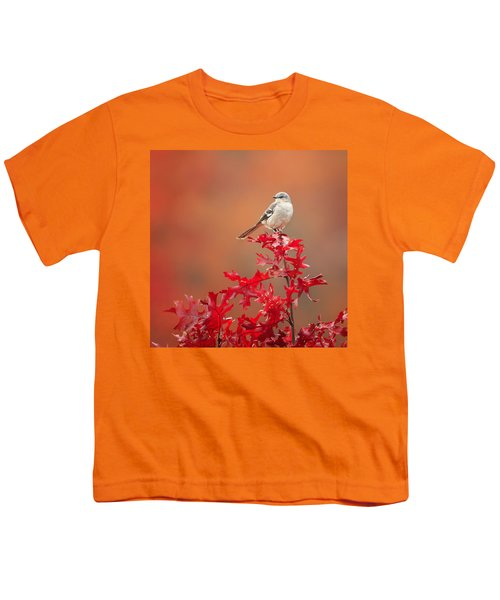 Mockingbird Autumn Square Youth T-Shirt by Bill Wakeley