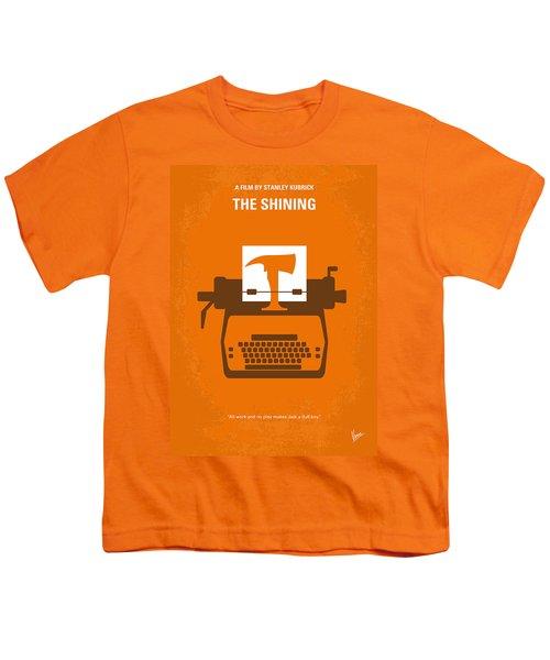 No094 My The Shining Minimal Movie Poster Youth T-Shirt by Chungkong Art