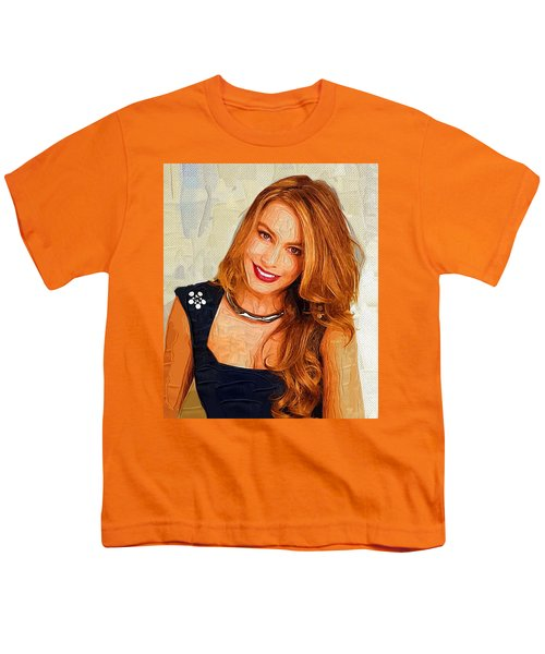 Actress Sofia Vergara  Youth T-Shirt by Best Actors